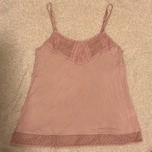 American Eagle pink tank top camisole size medium